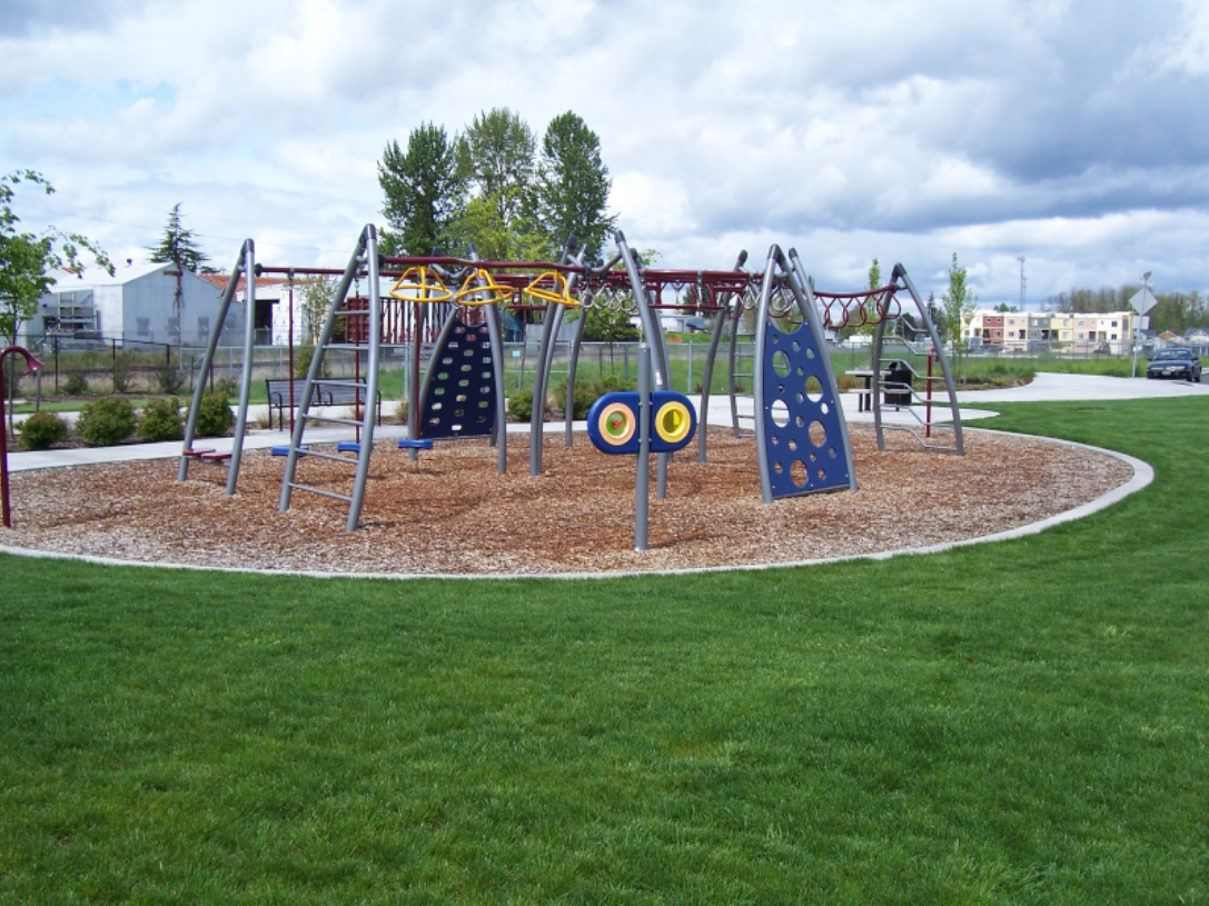 Battle Ground Village Park Play Structure