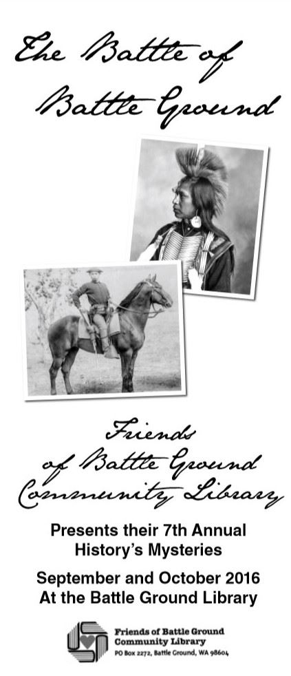 Battle of Battle Ground Brochure