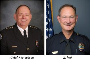 Chief Richardson and Lt Fort