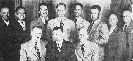 Photo of First Battle Ground City Council - 1951