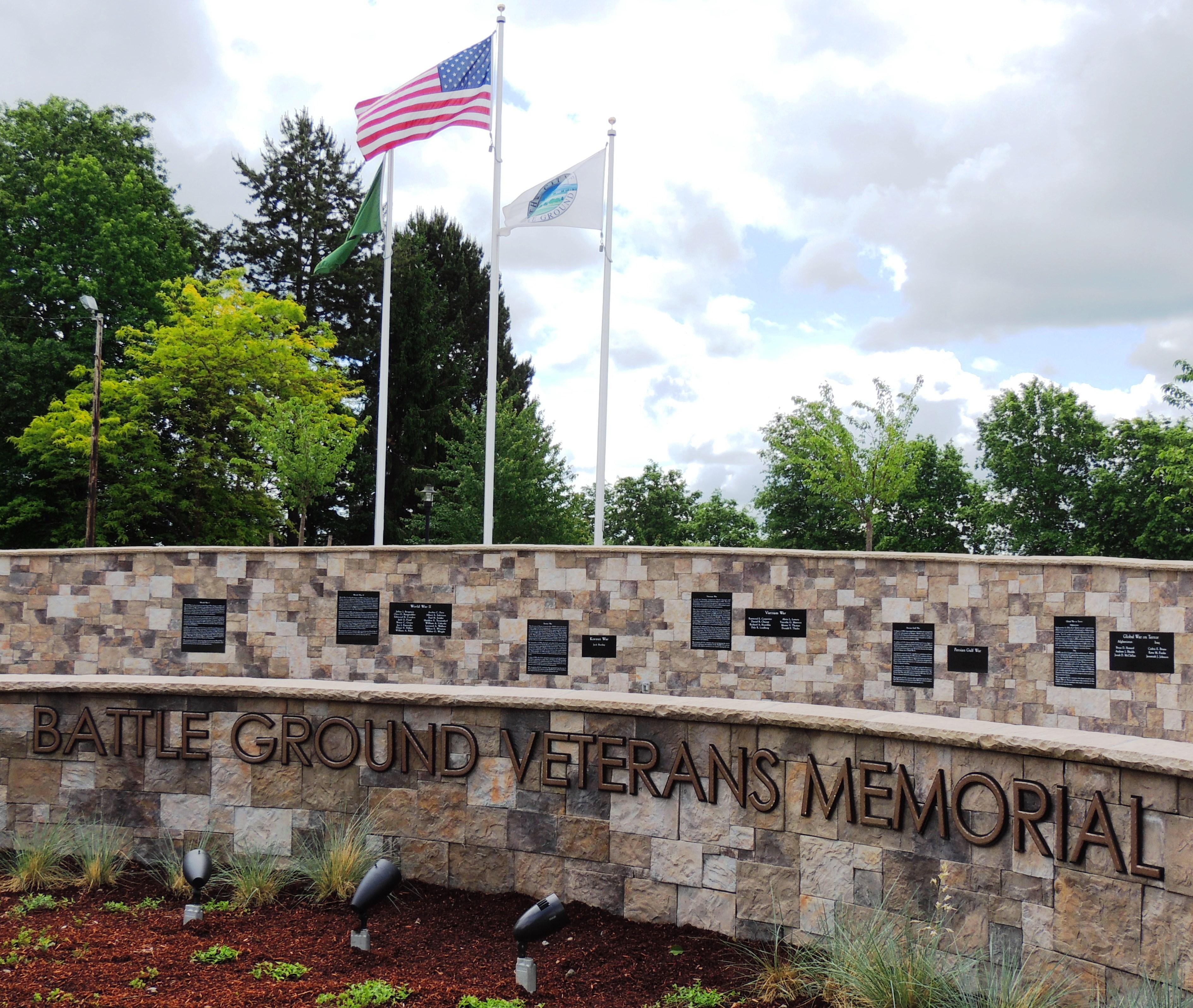 The Battle Ground Veteran's Memorial